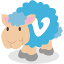 sheep, social network, vimeo icon