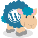 sheep, social network, wordpress icon