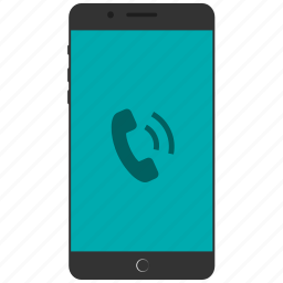 calling, mobile phone, phone call, ringing phone icon