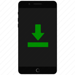 download, download on mobile, smartphone download icon