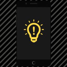 idea, mobile ideas, phone idea, talk ideas icon