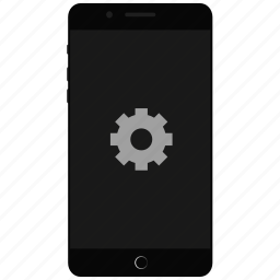 mobile customization, mobile setting, phone settings, settings, smartphone icon