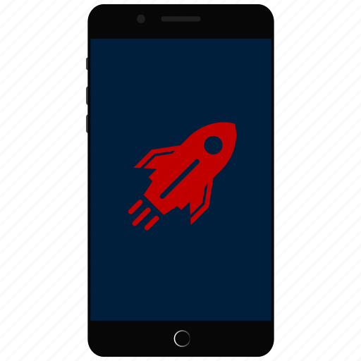 fast phone, quick, smartphone, speed, speed booster icon