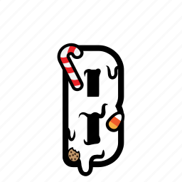 candy, cream, font, topping icon