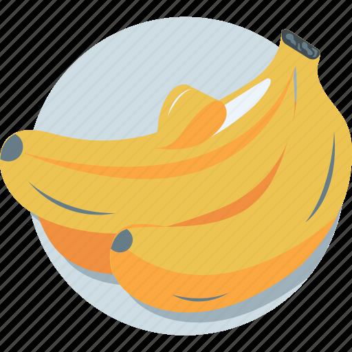 banana, food, fruit, healthy diet, organic icon