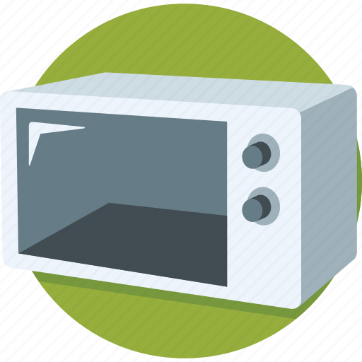 appliance, cooking, cooking range, electronics, microwave, oven icon