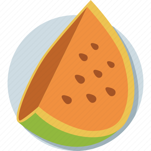 cantaloupe, fruit, juicy fruit, tropical fruit, watermelon icon