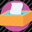 box, napkin, tissue, tissue box