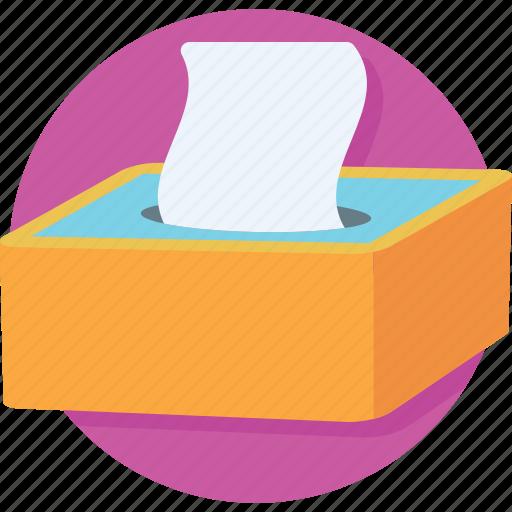 box, napkin, tissue, tissue box icon