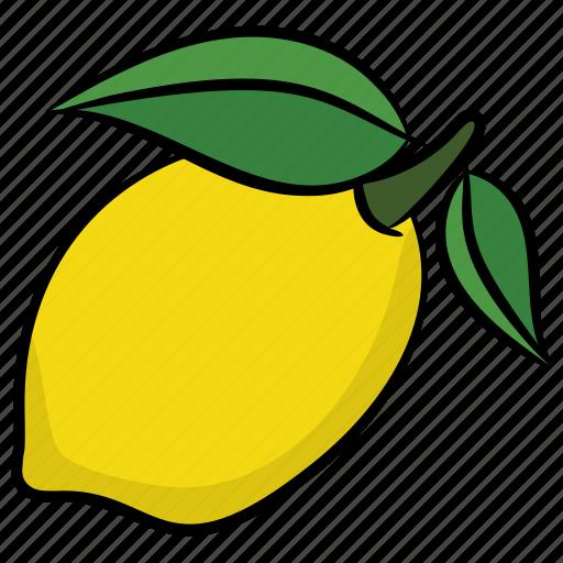 food, fruit, juicy fruit, lemon, lime icon