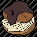 flapjack, flat cakes, griddle cake, hot cake, pancake icon