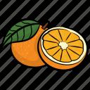 citrus, food, fruit, healthy diet, orange, ripe orange