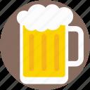 beer pint, pint glass, beer stein, beer mug, beer tankard icon