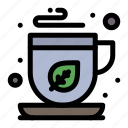green, mocha, tea icon