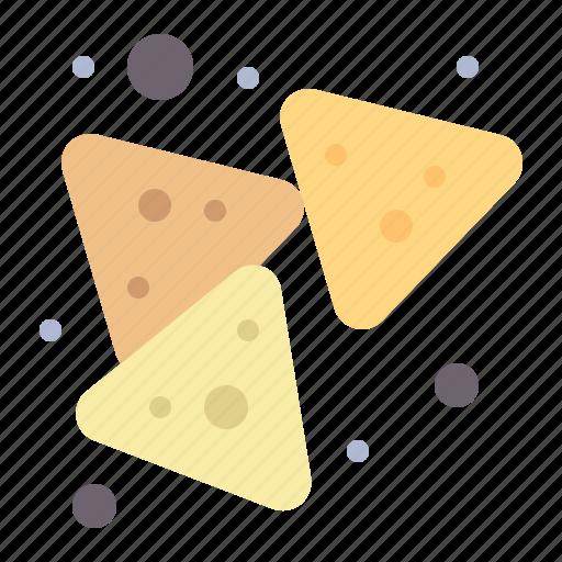 chips, food, nachos, snack icon