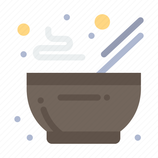 bowl, food, hot, kitchen icon