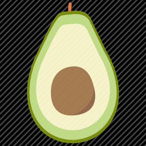 avocado, avocado icon, food, food icon, fruit, fruit icon, vegetables icon