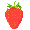 food, strawberry, fruit