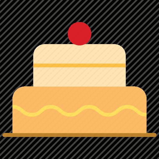 bithday, cake, pie, sweet icon