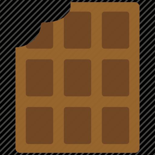 bar, chocolate, chocolate bar, sweet icon
