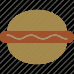 burger, hamburger, sandwich, sausage icon