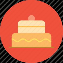 birthday, cake, pie, sweet icon