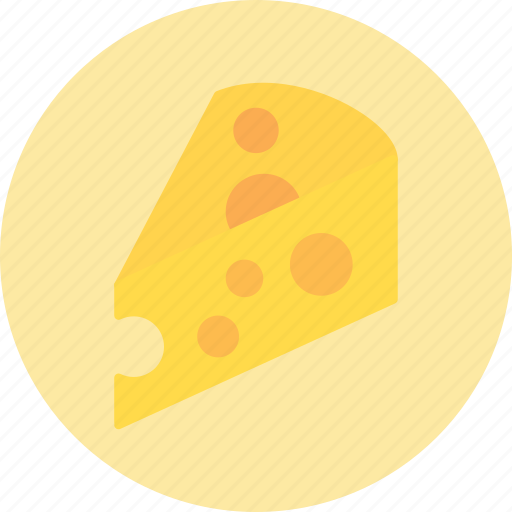 cheese, slice, taste icon