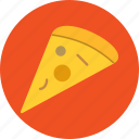 eat, fast food, food, pizza, slice icon