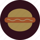 burger, fast, food, sandwich, sausage icon