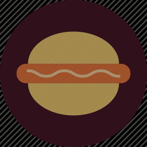 burger, fast, food, sandwich, sausage icon