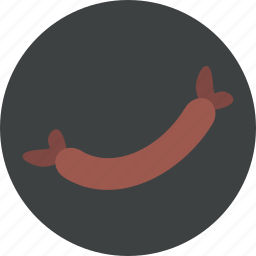 beef, eat, food, sausage icon
