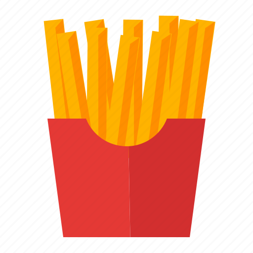 cooking, food, french, fries, potato, snack icon