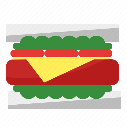 Bread, food, picnic, sandwich icon - Download on Iconfinder