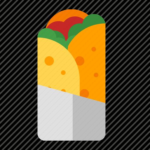 food, junk, kebab, snack icon