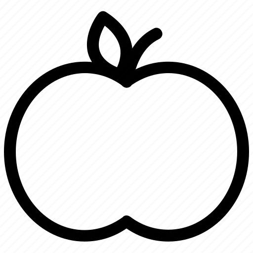 apple, food, fruit, picnic, snack icon