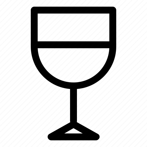 drink, food, glass, snack, wine icon
