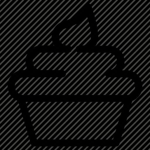 cream, food, ice, snack icon