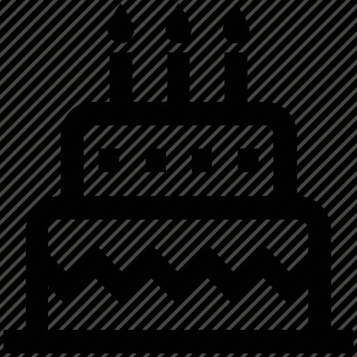 birthday cake, cake, celebration, food, wedding icon
