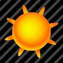 elements, sun icon