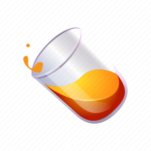 Food, fruit, glass, juice, liquid, orange icon - Download on Iconfinder