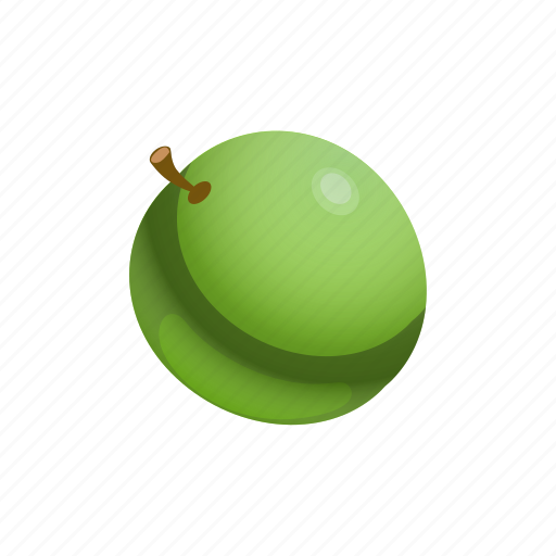 Food, fruit, grape, green icon - Download on Iconfinder