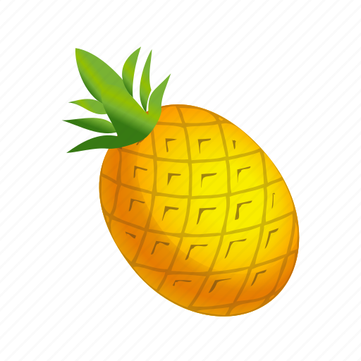 Food, fruit, pineapple icon - Download on Iconfinder