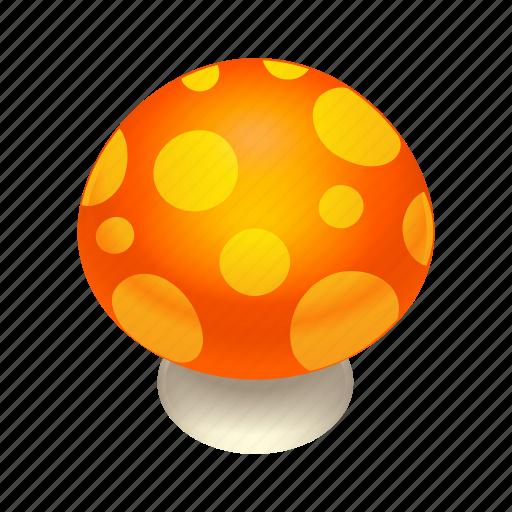 Food, mushroom, orange icon - Download on Iconfinder
