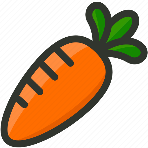 carrot, food, vegetable, vegetables icon