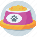 dog food, dog treat, pet food, pet goodies, pet treat icon