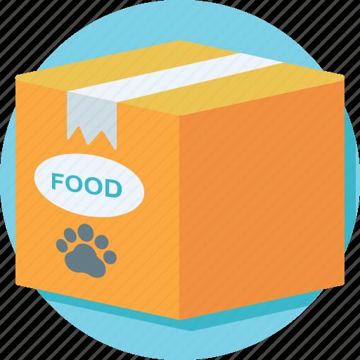 dog food, food pack, pet food, pet goodies, pet treat icon