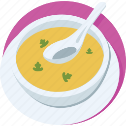 hot soup, meal, nutrition, soup, soup bowl icon