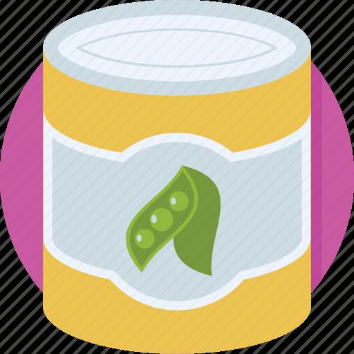 food box, nutrition, peas, peas box, vegetable icon