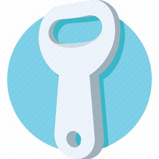 bottle opener, can opener, opener, peel cutter, peeler icon
