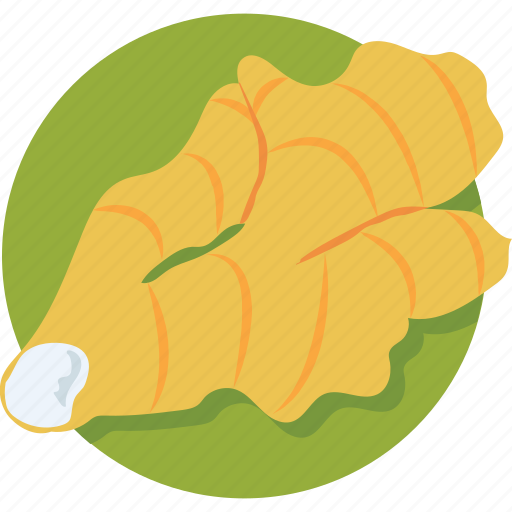 ginger, ingredient, root, spice, vegetable icon
